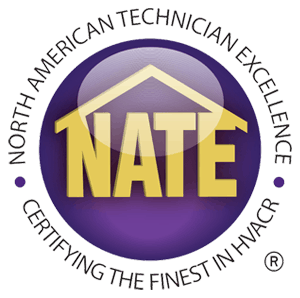 Head's HVAC Nate Certified Logo